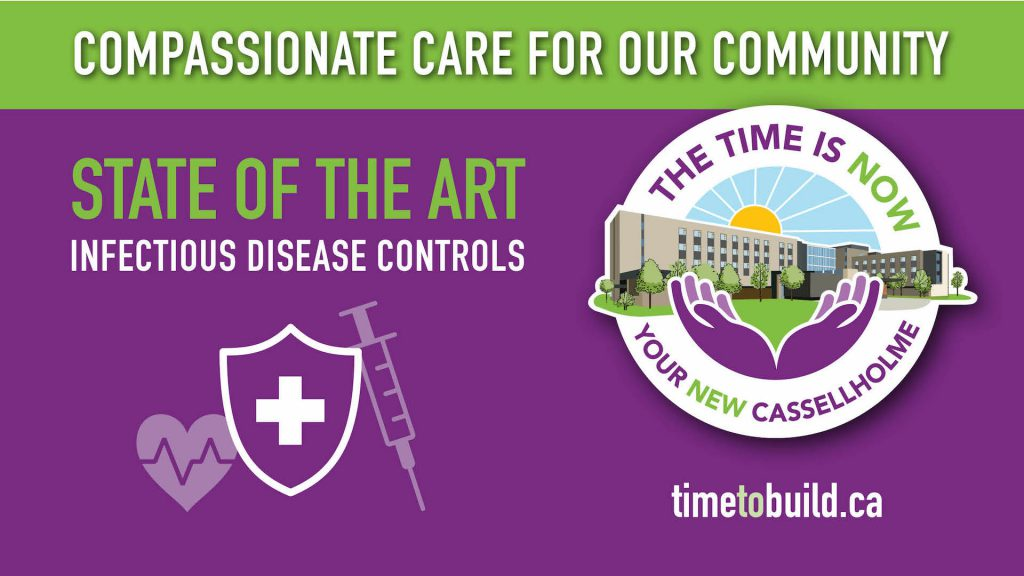 Cassellholme Infographics State of the art infectious disease control